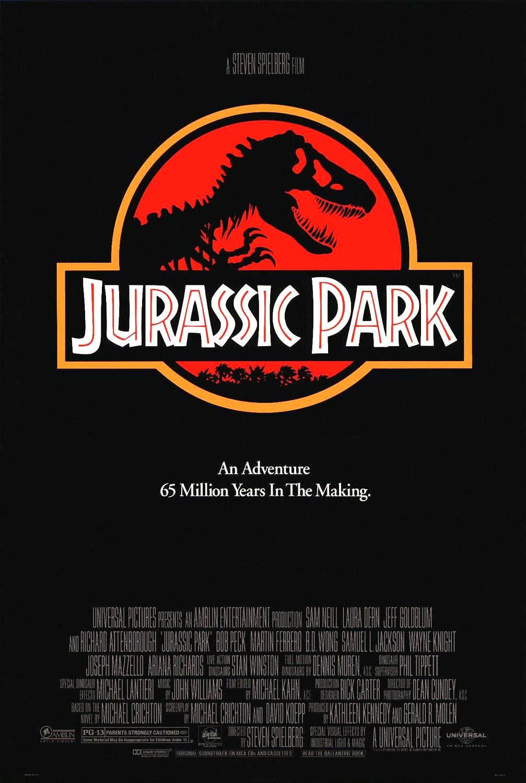 《侏罗纪公园》电影海报