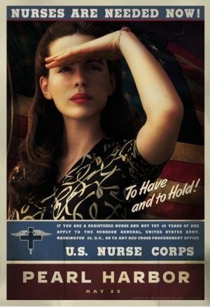 《珍珠港》(Pearl Harbor)角色海报