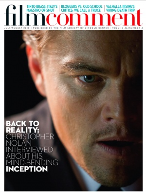 《电影评论》(Film Comment)杂志封面