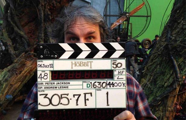《霍比特人》开机牌上注明了48帧