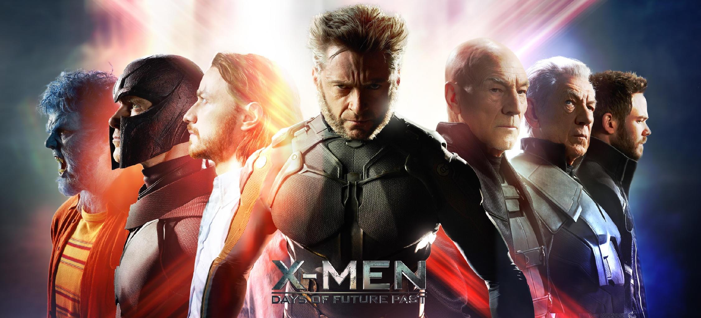《X战警:逆转未来》人物群像海报
