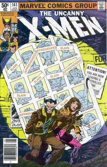 《X战警》系列漫画封面