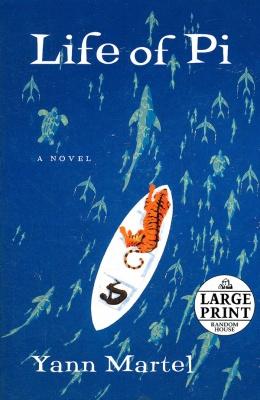 《少年派的奇幻漂流》英文原版小说封面