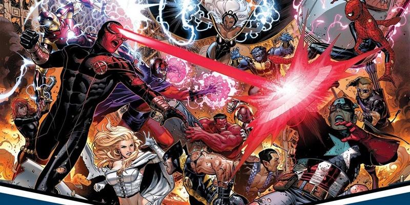 X战警 VS 复仇者联盟