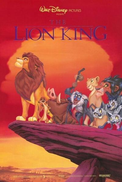《狮子王》电影海报
