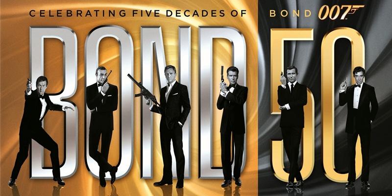 007系列电影50周年纪念海报