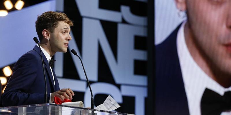 加拿大导演泽维尔·多兰凭借《妈咪》获得第67届戛纳电影节评审团奖