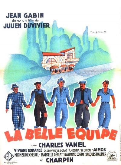 《齐心协力》(La belle équipe)海报