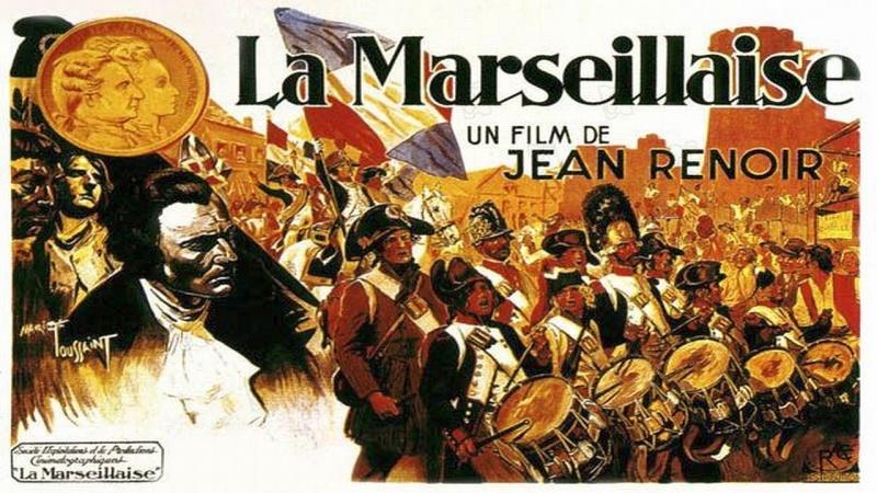 《马赛曲》(La Marseillaise)横版海报