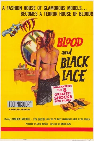 《血与黑蕾丝》海报