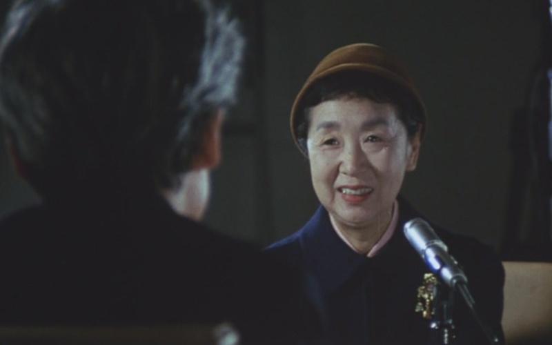 《沟口健二:一个电影导演的生涯》剧照,已是迟暮之年的田中绢代