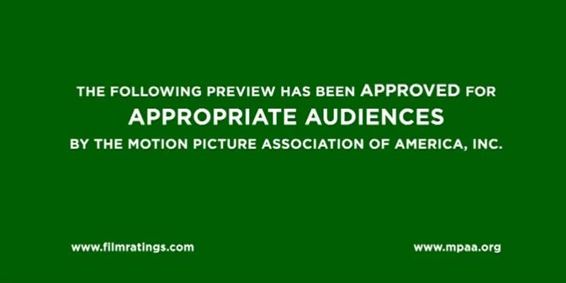 《罪恶之城2》预告片中的Green Band