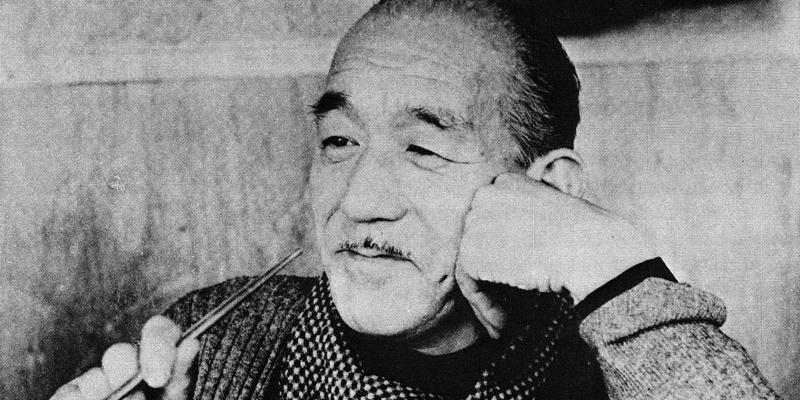 小津安二郎晚年的生活照