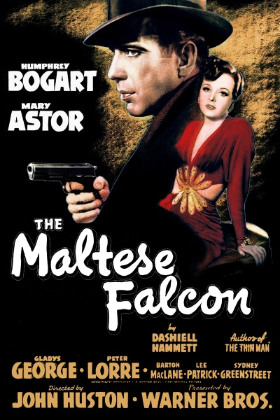 《马耳他之鹰》电影海报