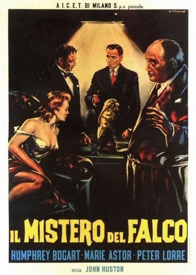 《马耳他之鹰》意大利版海报