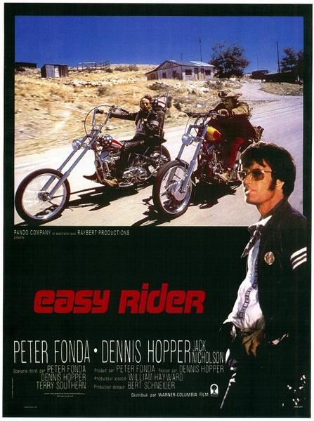 1969年由丹尼斯·霍珀执导的《逍遥骑士》在美国疯狂卖座