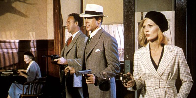 《雌雄大盗》无疑是亡命者公路电影的经典之作