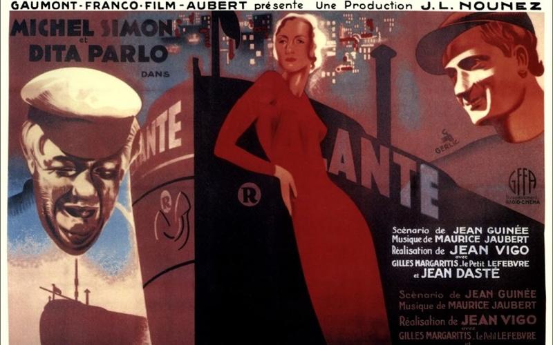 《驳船阿特兰特号》横版海报