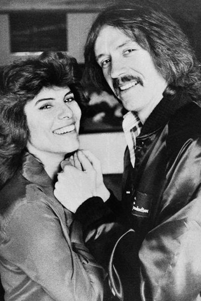 1979年,新婚燕尔的卡朋特与巴比欧