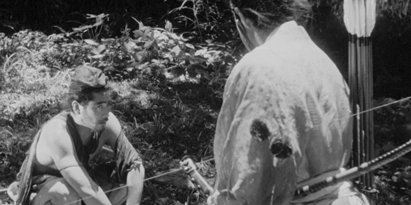 《罗生门》影片截图
