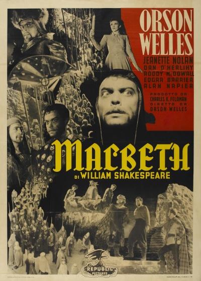 《麦克白》意大利版正式海报