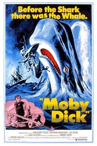 《白鲸记》电影海报