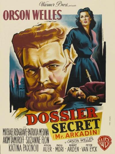 《阿卡丁先生》电影海报