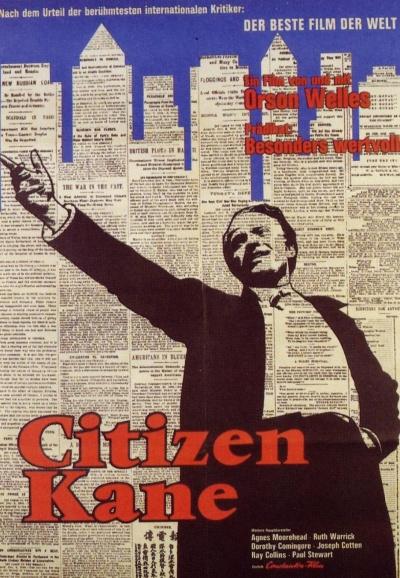 《公民凯恩》电影海报