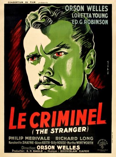 《陌生人》法国版正式海报
