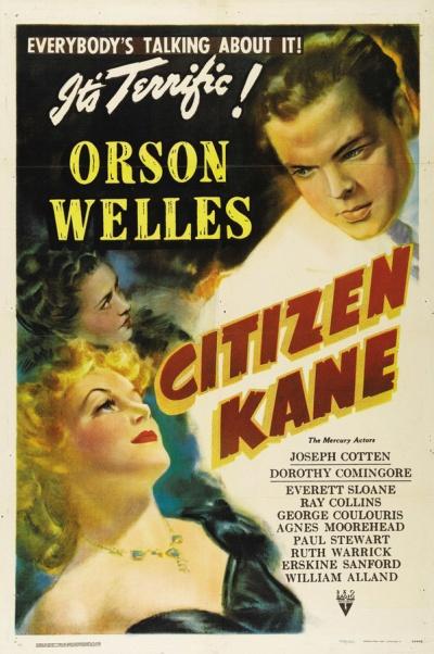 《公民凯恩》海报