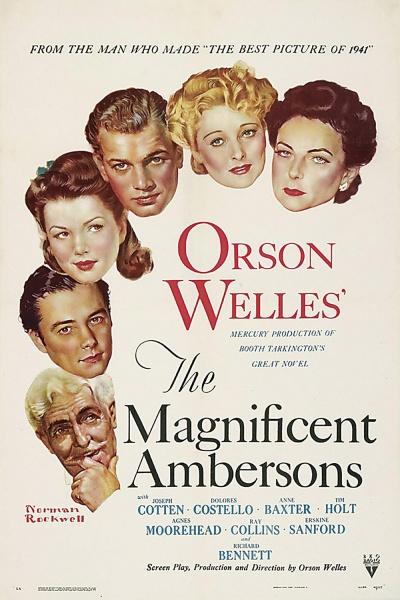 《伟大的安伯逊家族》海报