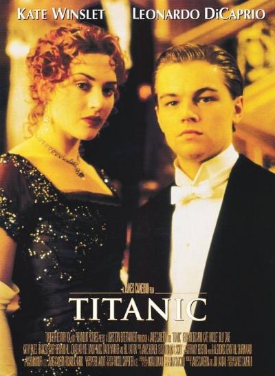 《泰坦尼克号》电影正式海报