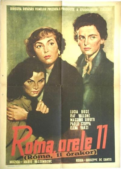 《罗马11时》海报