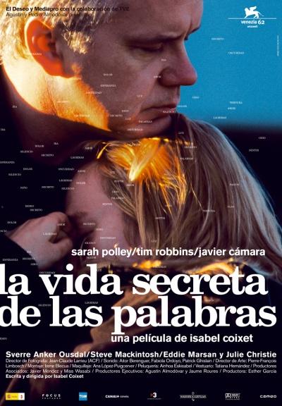 《言语的秘密生活》电影海报