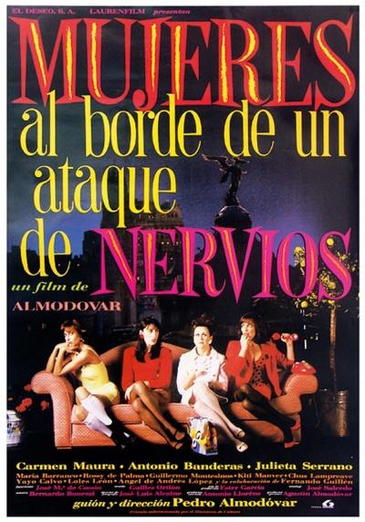 《崩溃边缘的女人》电影正式海报
