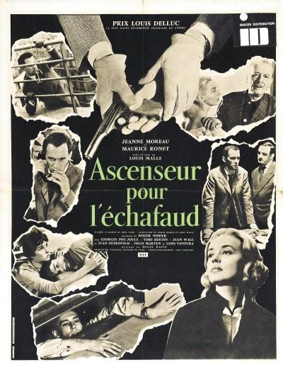 《通往绞刑架的电梯》电影正式海报