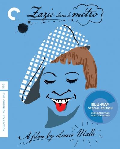 《扎齐坐地铁》CC版蓝光DVD封面