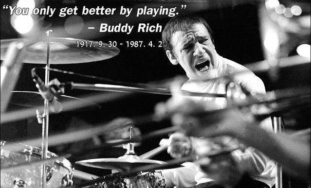 """世界上最伟大的鼓手""Buddy Rich"
