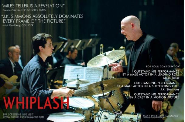 《爆裂鼓手》奥斯卡公关海报