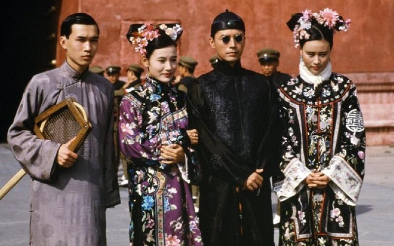 《末代皇帝》幕后照片