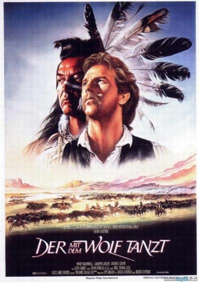 《与狼共舞》电影正式海报