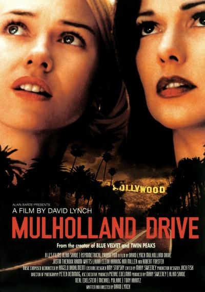 《穆赫兰道》电影正式海报