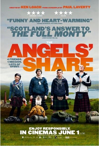 《天使的一份》电影正式海报