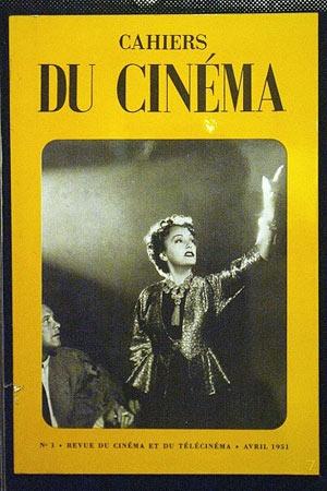 1951年的《电影手册》封面