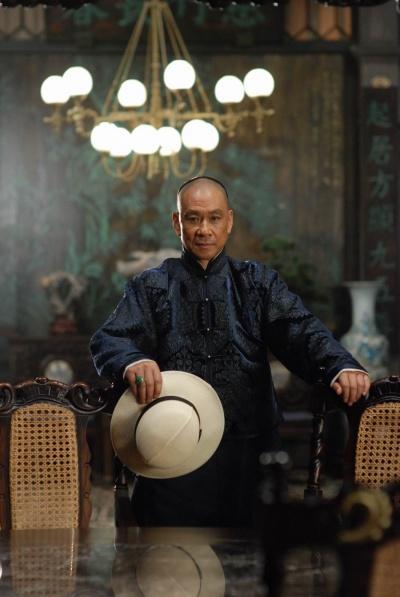 王学圻在《十月围城》中饰演李玉堂