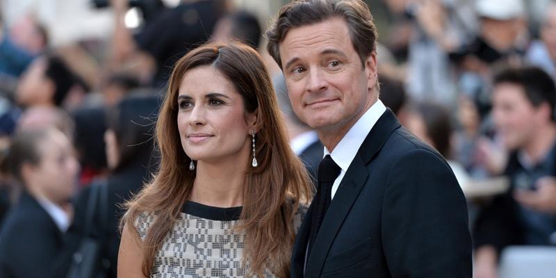 科林·费斯与其妻子Livia Guiggioli