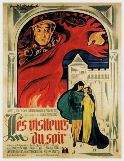 《夜间来客》电影正式海报