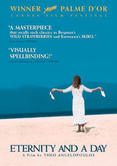 希腊电影大师安哲罗普洛斯代表作《永恒和一日》美国海报